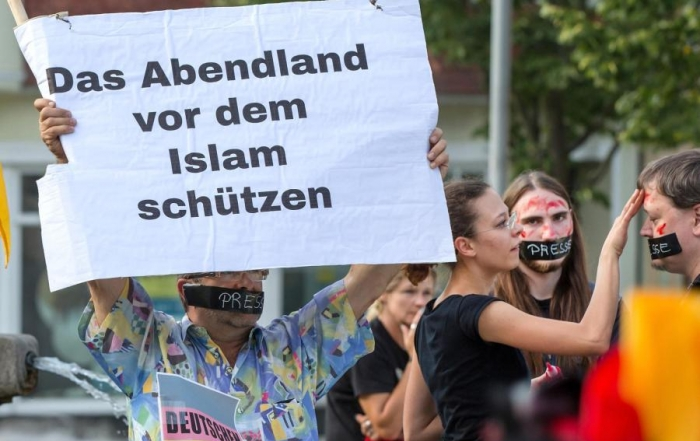 Rechte-Demonstration
